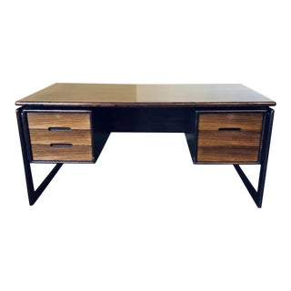 1970s Danish Modern Rosewood Writing Desk For Sale