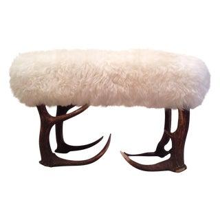 Sheepskin Stool/Ottoman