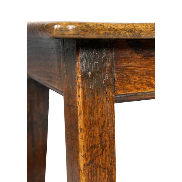 Rustic George II Oak Stool/Table For Sale - Image 3 of 8