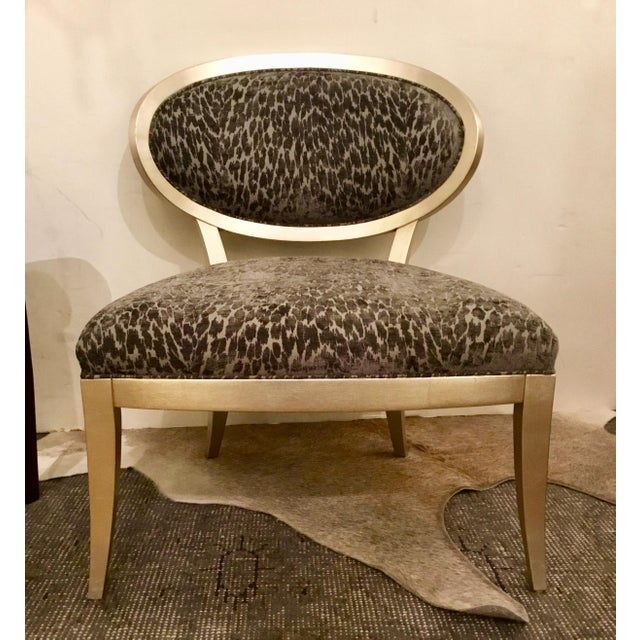 Textile Currey & Co. Bacall Chair For Sale - Image 7 of 7