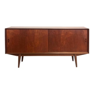 Vintage Danish 1960s Teak Sideboard For Sale