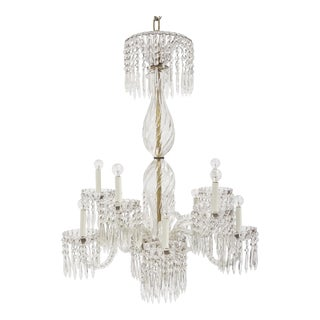 Exquisite Crystal Chandelier For Sale