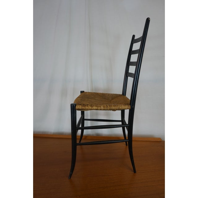 Italian Style Ladderback Chairs - A Pair - Image 5 of 7