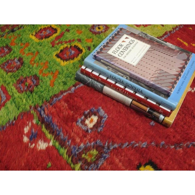 """Festive """"Tree-of-Life"""" Rug For Sale In New York - Image 6 of 9"""