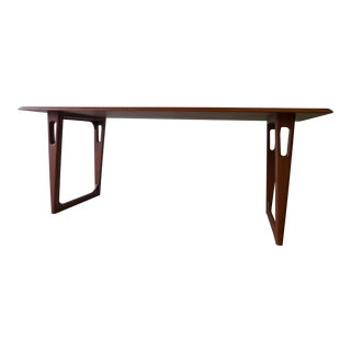 Mid Century Modern Teak Coffee Table For Sale