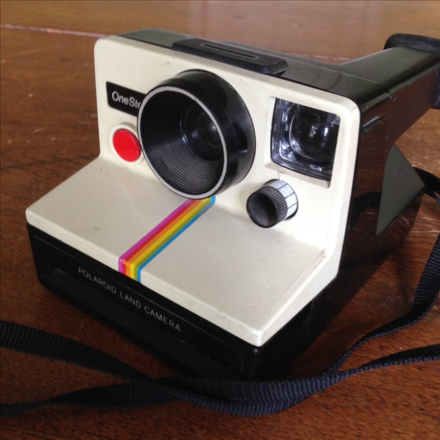 Vintage Polaroid One Step Land Camera For Sale - Image 10 of 11