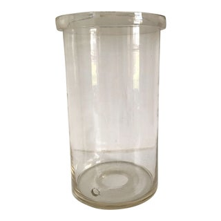 Moving Sale - Large Handmade Glass Cylinder