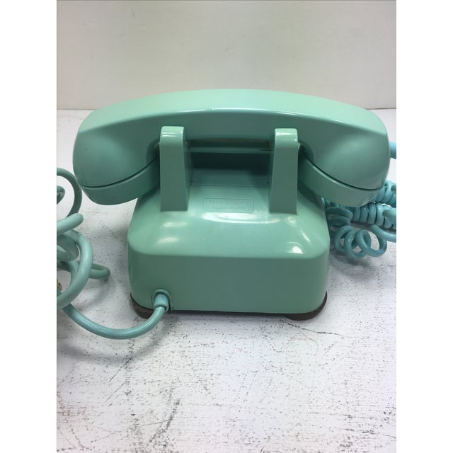 Turquoise 500 Rotary Dial Desk Phone - Image 5 of 11