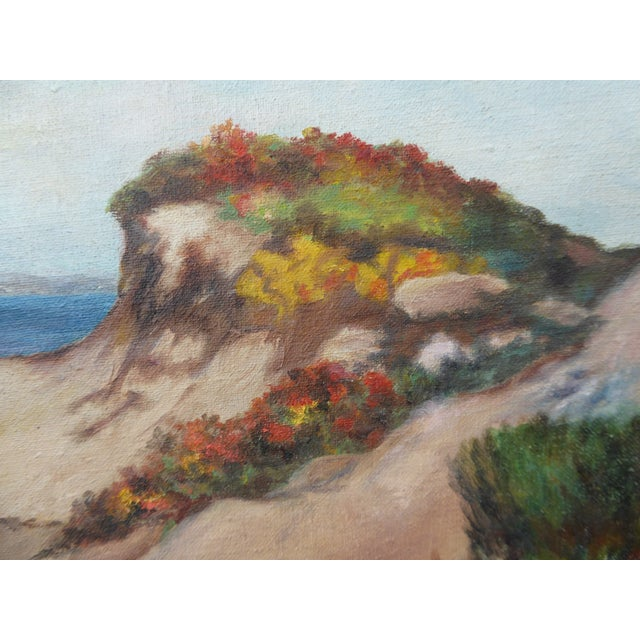 """Contemporary """"Montaña De Oro State Park"""" Oil Paintings - A Pair For Sale - Image 3 of 11"""