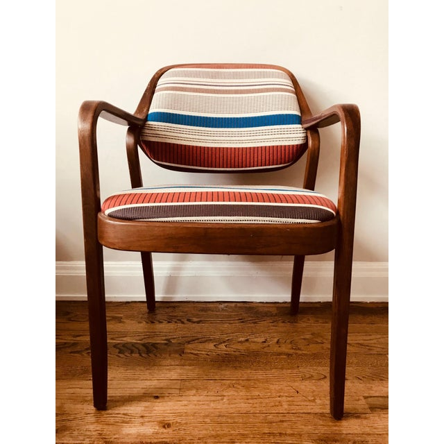 1970s Knoll Mid-Century Modern Chairs - Set of 4 For Sale In New York - Image 6 of 10