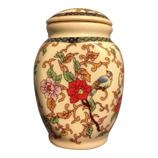 Chinese Ceramic Tea Canister