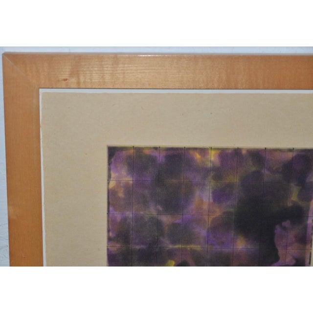 Yutaka Yoshinaga Color Etching W/ Spit Bit Aquatinti C.1996 S/N Edition of 40 For Sale - Image 4 of 8