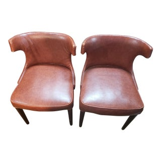 Vintage Shelby Williams Chairs - a Pair For Sale