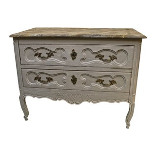 1760 Louis XV Painted Chest For Sale