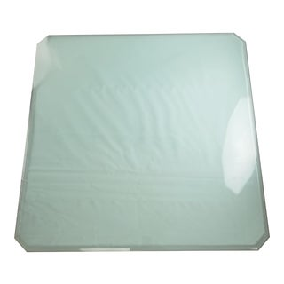 Square Beveled Glass Table Top For Sale