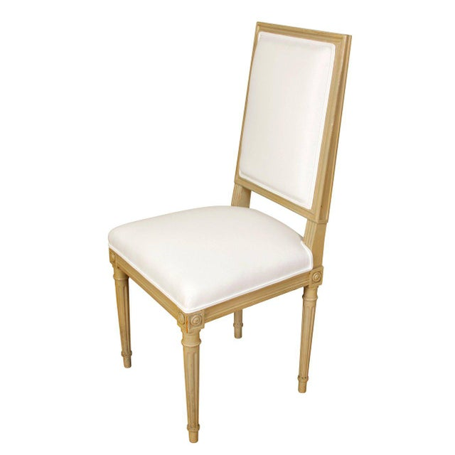 Set of Ten Louis XVI Style Dining Chairs - Image 4 of 9