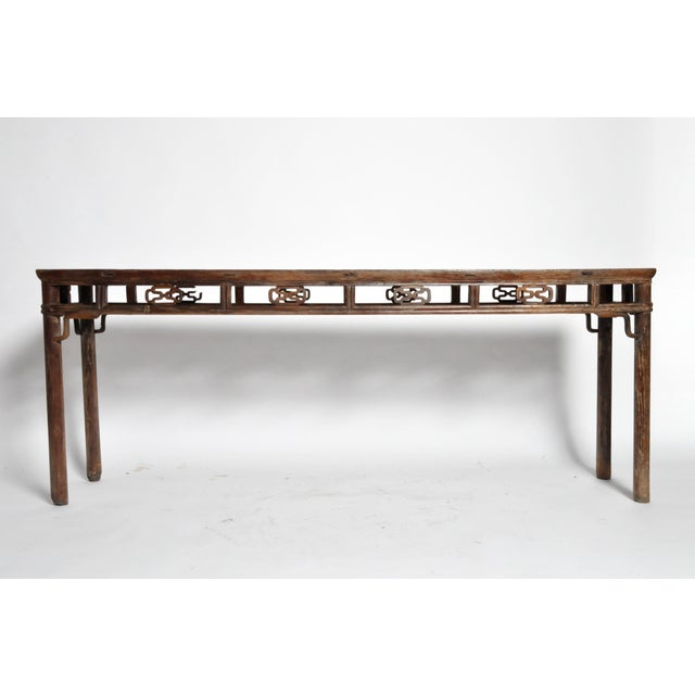 Qing Dynasty Altar Table with Rounded Legs and Original Lacquer - Image 5 of 11