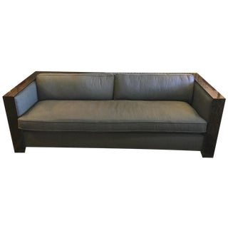 Cara Cole Wood Track Sofa