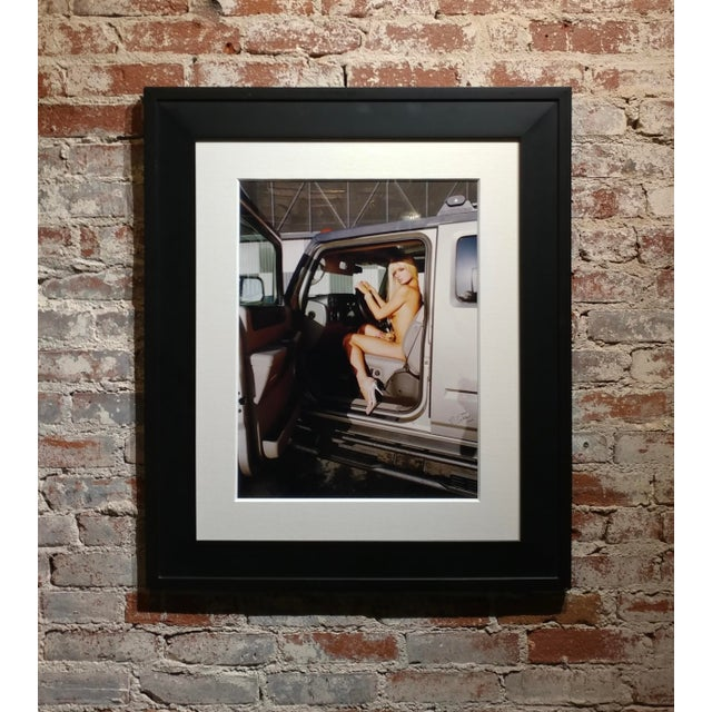 """""""Paris Hilton Nude With Tinkerbell"""" Original Photograph, Signed For Sale - Image 9 of 9"""