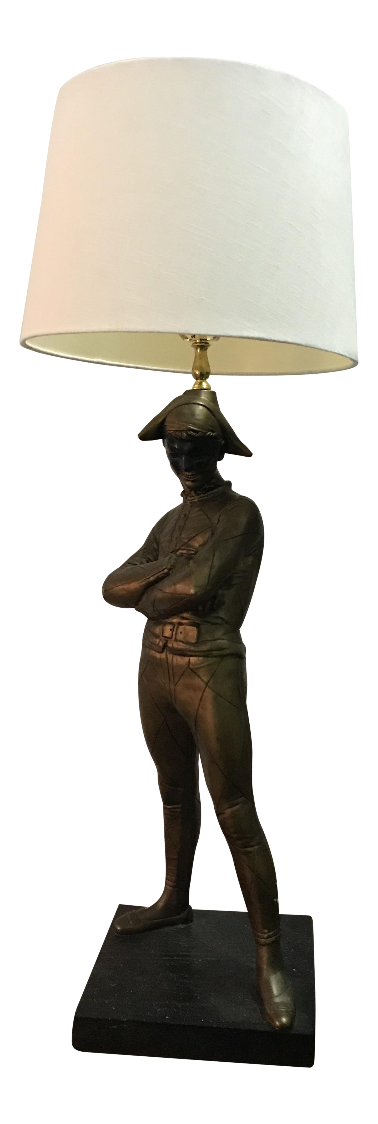 French Style Jester Table Lamp Chairish