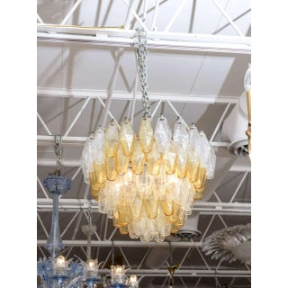Five Layer Polyhedral Chandelier by Carlo Scarpa Preview