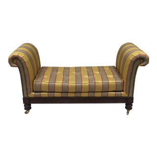 Lillian August Upholstered Bench For Sale