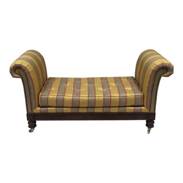 Lillian August Upholstered Bench For Sale