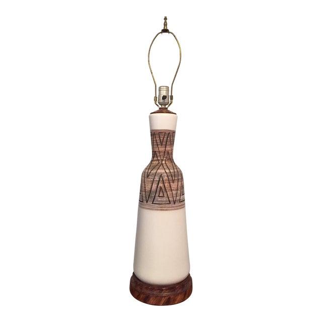 Mid-Century Vontury Porcelain Lamp - Image 1 of 7
