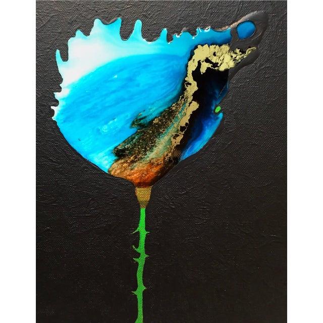 """World Bloom"" Original Acrylic Painting - Image 1 of 3"