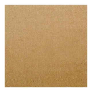 Mulberry Camel Velvet Fabric - 1 Yard For Sale