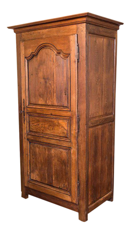 18th Century Louis XIV Armoire Bonnetiere