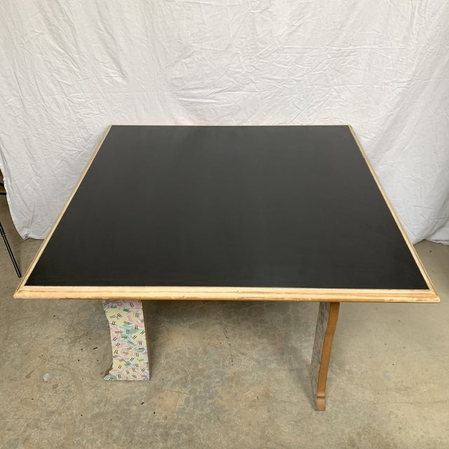"""White Robert Venturi """"Cabriole Leg"""" Table for Knoll For Sale - Image 8 of 12"""