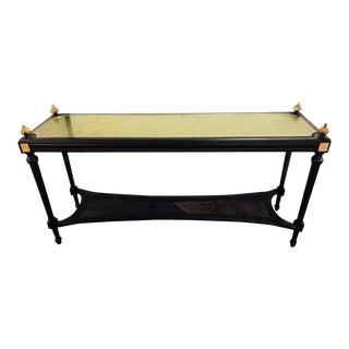 Louis XVI Jansen Style Console Table For Sale