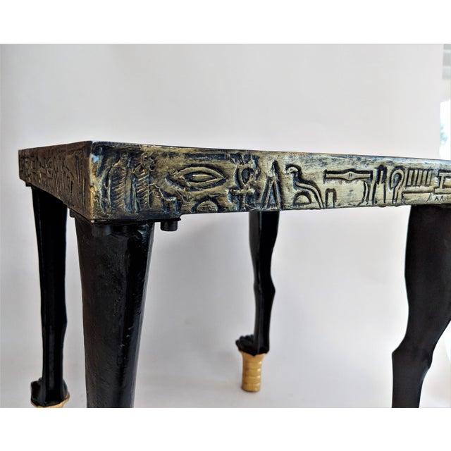 Egyptian Nekhbet Occasional Table - Image 10 of 11