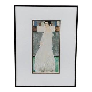 Framed Gustav Klimt Margaret Stonborough-Wittgenstein Portrait Print For Sale