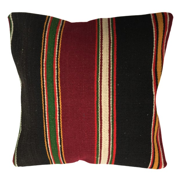 Handmade Kilim Pillow Cover - Image 1 of 5