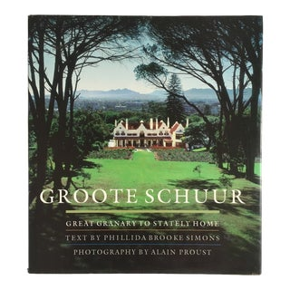 "2002 ""Groote Schuur"" First Edition Art/Architecture Book For Sale"