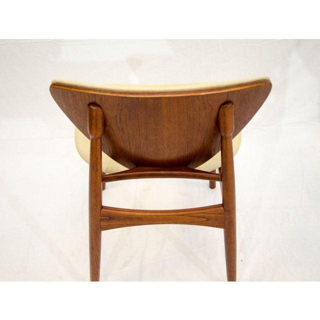 Set of Six Danish Teak Dining Chairs, Arne Hovmand Olsen For Sale - Image 10 of 13