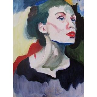 Contemporary Vintage Portrait of a Woman
