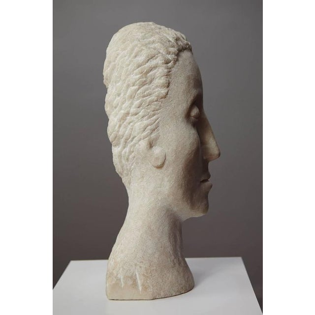 White Dolores Singer, Head II, 1993 For Sale - Image 8 of 11