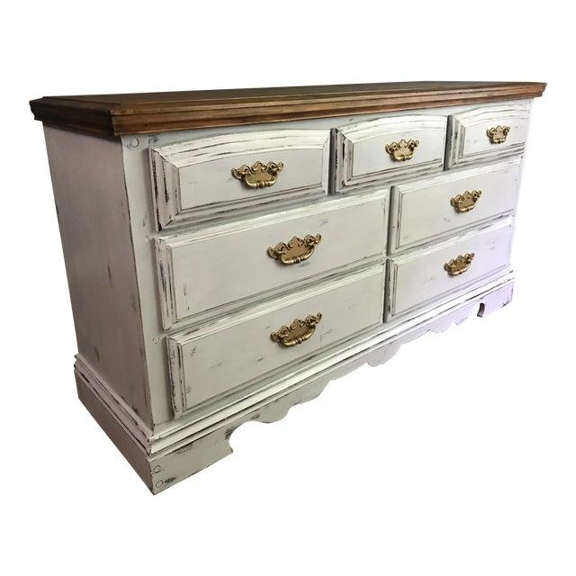 Vintage Distressed Dresser - Image 1 of 11