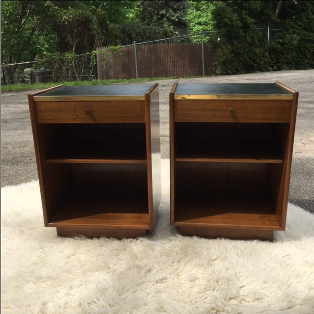 Harvey Prober Bedside Tables - Pair - Image 2 of 11