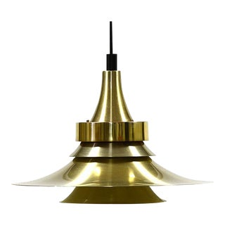 Vintage 1960s Danish Design Pendant Light For Sale