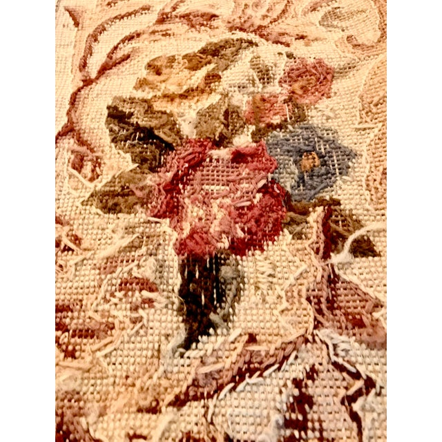 French Aubusson Needlepoint Rug - 8′6″ × 11′6″ For Sale - Image 9 of 11