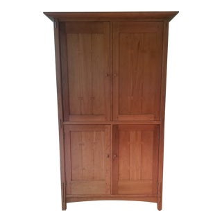 Stickley Cherry Armoire For Sale