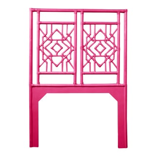 Tulum Headboard Twin - Bright Pink For Sale