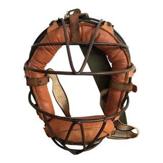 Antique Baseball Catcher's Mask