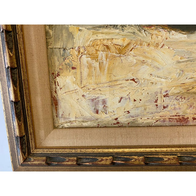1960s Still Life of Fruit Oil Paining For Sale - Image 5 of 6