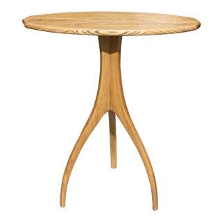 Vintage Modernist Tripod Table For Sale
