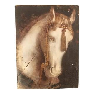 "Sid Dickens ""White Horse"" Memory Block Tile For Sale"
